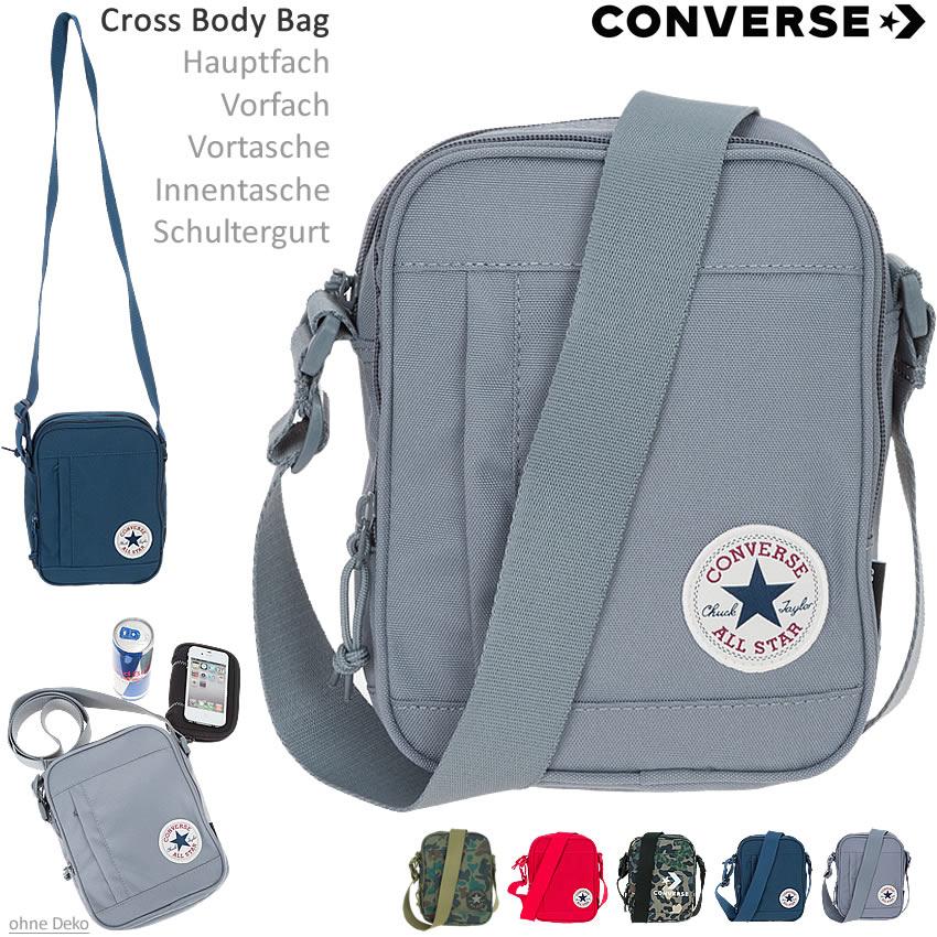 e4373473fb6c Converse Tasche Poly Cross Bag Mini Schultertasche Umhängetasche ...