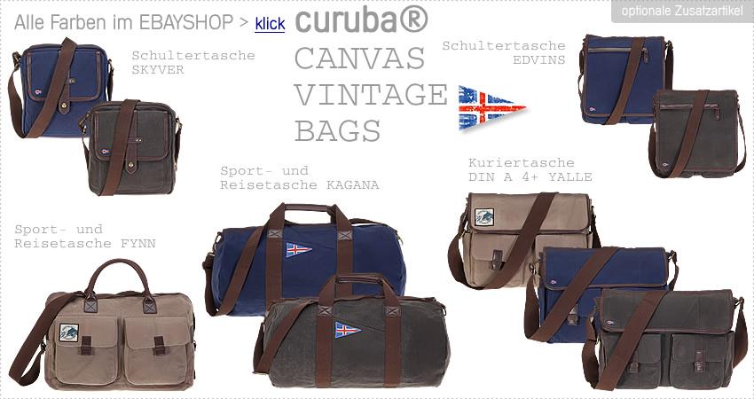 Alle CURUBA CANVAS Taschen > Klick >