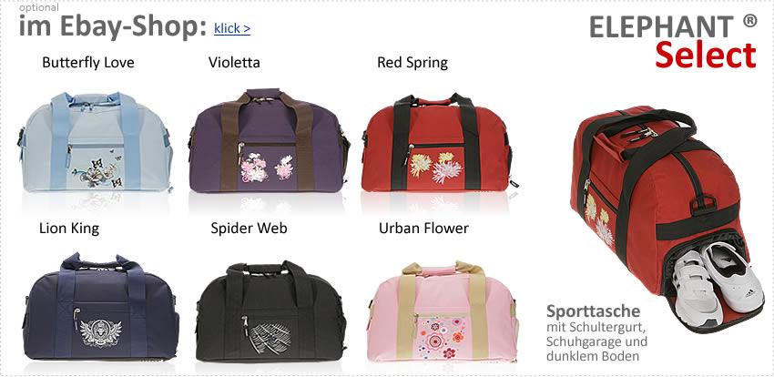 Alle ELEPHANT SELECT Sporttaschen im EBAYSHOP > klick >