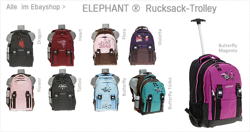 Alle ELEPHANT Rucksacktrolleys im EBAYSHOP > klick >