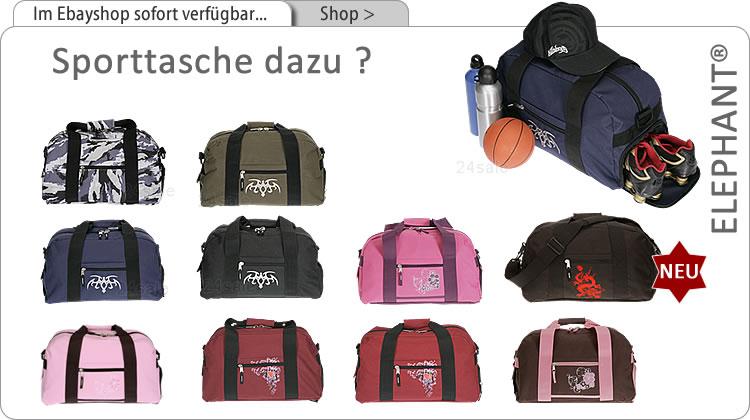 Alle ELEPHANT SPorttaschen im EBayshop sehen > klick >