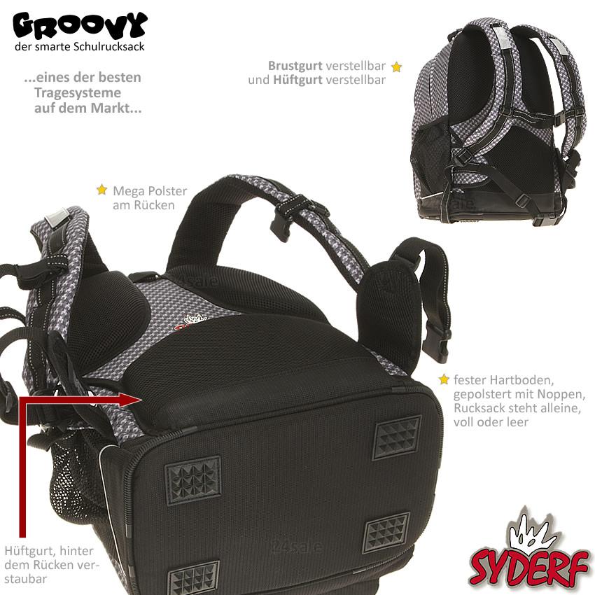 3 teile set syderf fredys schulrucksack sporttasche. Black Bedroom Furniture Sets. Home Design Ideas