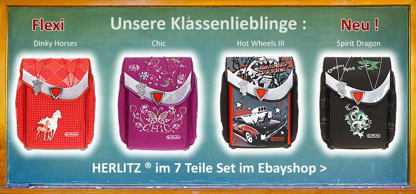 Alle HERLITZ ® FLEXI Schulranzen im EBAYSHOP > klick >