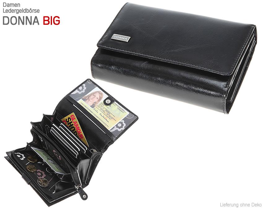 geldb rse donna big damengeldb rse leder xl ledergeldb rse 4 farben auswahl ebay. Black Bedroom Furniture Sets. Home Design Ideas