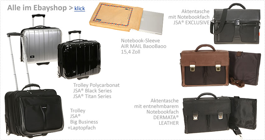 Alle TROLLEY / Laptoptrolley im EBAYSHOP > klick >