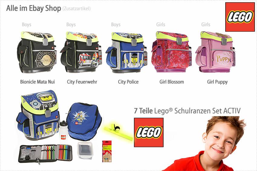 ALLE LEGO Schulranzen im EBAYSHOP > klick >