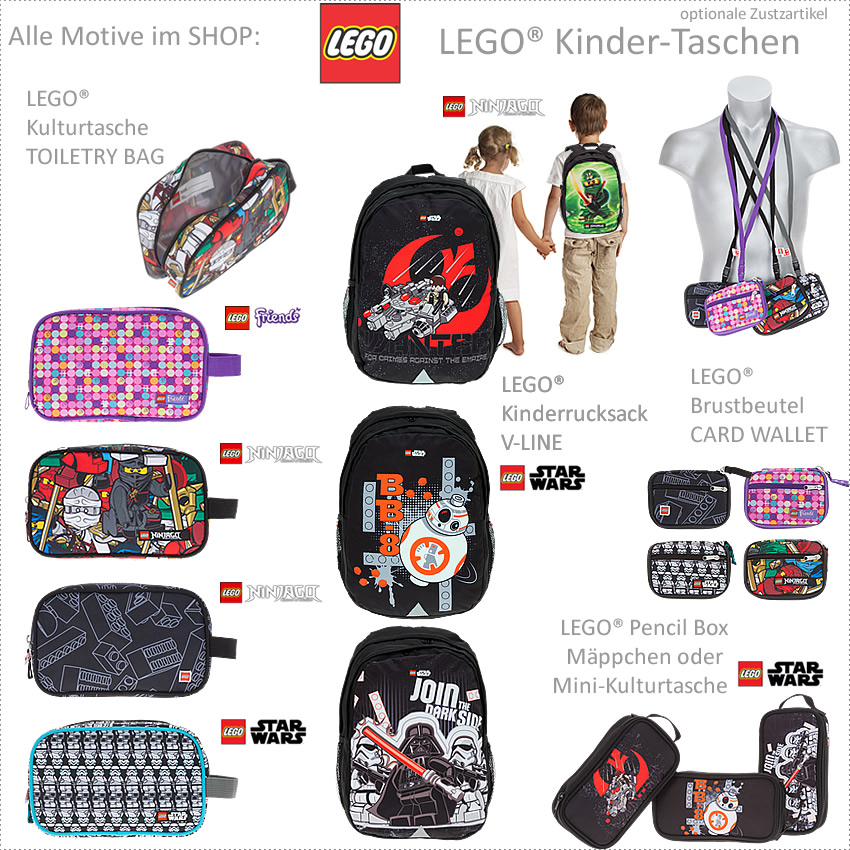 Eisbär 2T Set LEGO Kinder Rucksack JUNIOR Kinderrucksack Kindergartenrucksack