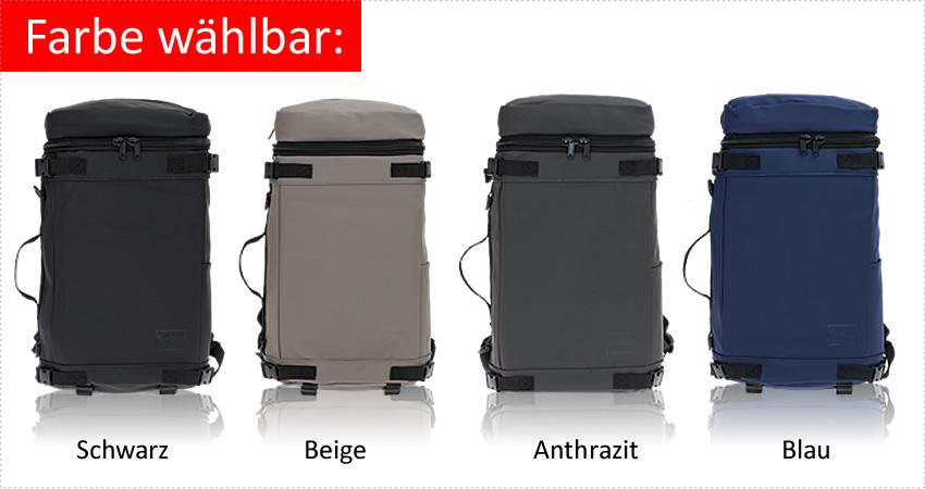 16753f561afdb NEW REBELS® Kurierrucksack TRUCK Rucksack in moderner Slim Form. Rucksack  im Fahrrad-Kurier Stil  hier die Slim Variante (nicht so breit).