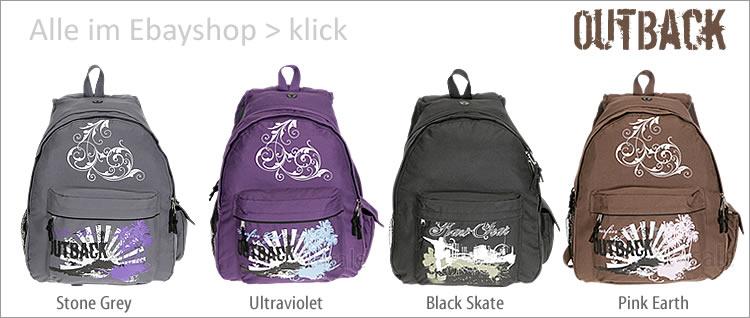 Alle Out Back Rucksäcke und Taschen sehen > klick >