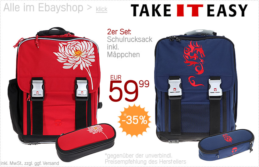Alle TAKE IT EASY im EBAYSHOP > klick >