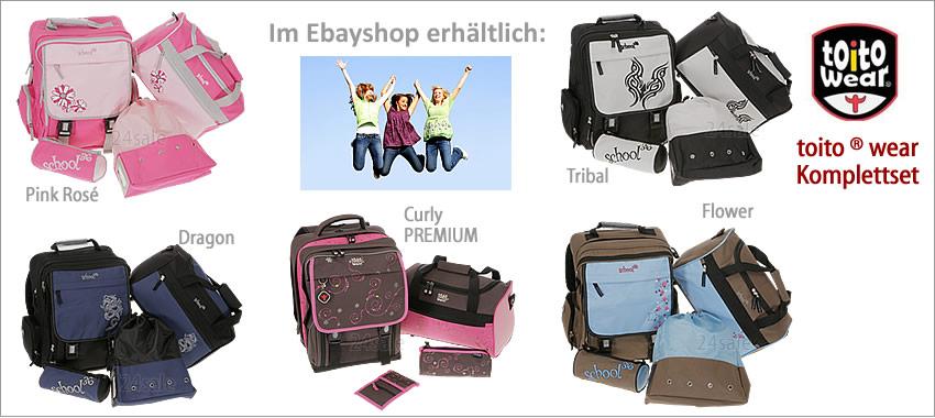 Alle TOITO WEAR ® Schulranzen im EBAYSHOP > klick >