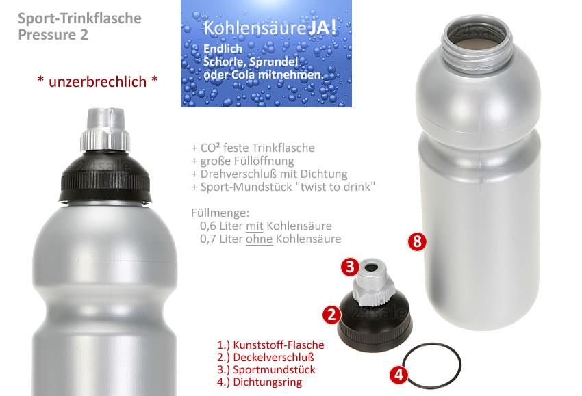 Trinkflasche Für Sprudelwasser