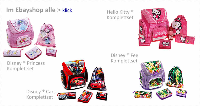 Alle HELLO KITTY & DISNEY ® Motive im EBAYSHOP > klick >