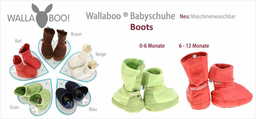 Alle WALLABOO Babyschuhe im EBAYSHOP > klick >